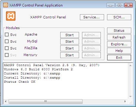 xamp_panel