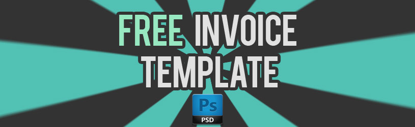 free download psd invoice template share for