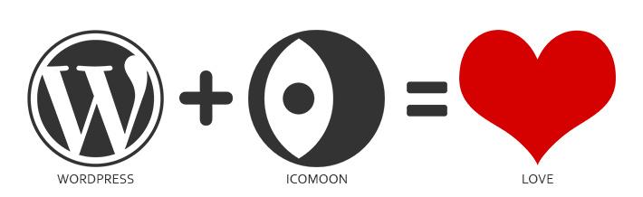 WordPress icomoon plugin header